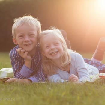Sara en Mathias Hooghe Familie Gezin Fotoshoot
